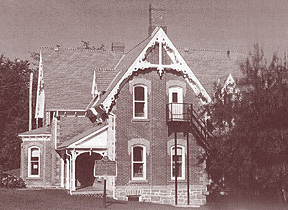 The original Merrickville Public Library