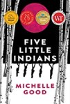 Book cover: Five Little Indians