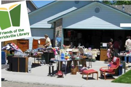 Garage Sale – continues May13
