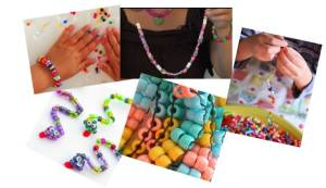 photss of bead crafts