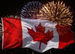 Canada Day flag photo