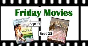 Friday movies for September