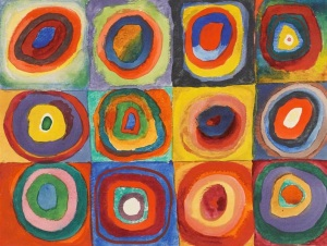 Concentric Circles by Kandinsky