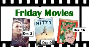 Friday movies for December