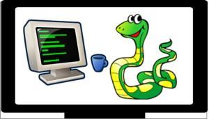 Coding in Python graphic