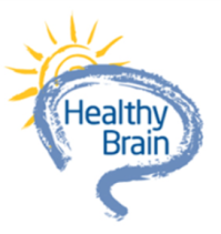 Healthy brain graphic