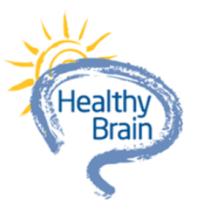 Healthy brain graphic