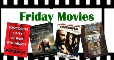 Friday movies for November: Payback, Grizzly Man, Syriana, Synecdoche, New York