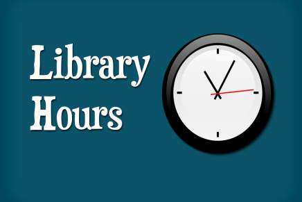 """Stage 2"" Library Hours"