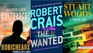 New books: Robicheaux, The Wanted, Unbound