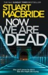 book cover: Now we are dead