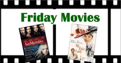 Movie graphics: Les Miserables, My Fair Lady