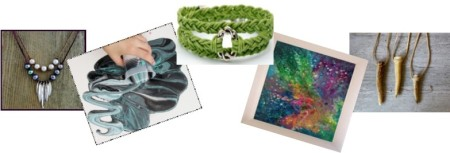 picture of art and jewelry projects