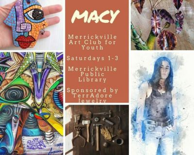 Poster for Merrickville Art Club for Youth