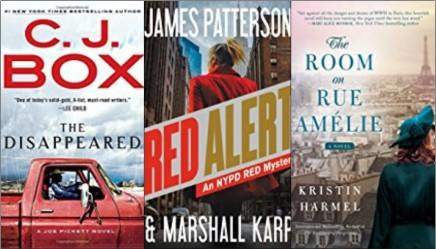 New Books – Thrillers & NewAuthors!