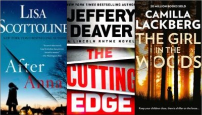 New books: After Anna; The cutting edge; The girl in the woods