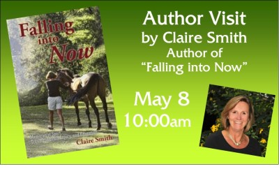Claire Smith author visit graphic