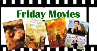 graphic with posters from May's Friday movies
