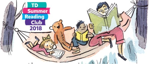 TD Summer Reading Club graphic