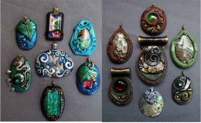 picture of sample pendants