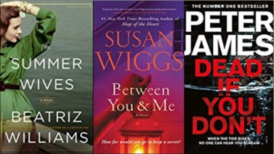 New Book covers: Summer wives, Between You and Me, Dead if you don't