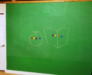 photo of chalkboard wall