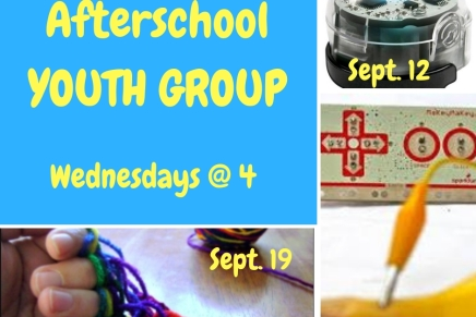 Afterschool Youth Group – Wednesdays @4