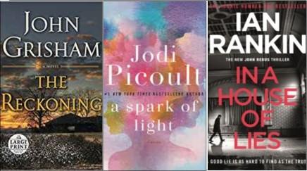 New – Grisham, Picoult &more