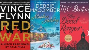 New book covers: Red war, Alaskan holiday, Dead Ringer