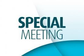 Special Library Board Meeting – Oct. 23