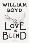 Book cover: Love is blind