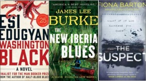 New Book Covers: Washington Black, The new Iberia blues, The suspect