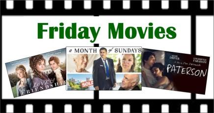 Friday movies inApril!