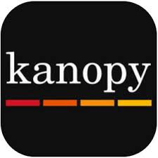 Icon for Kanopy film streaming service
