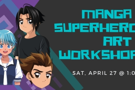 Manga Art Workshop -Apr 27