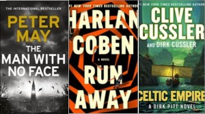 New Books: The man with no face; Run away; Celtic empire