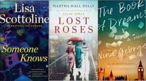 New book covers: Someone knows, Lost roses, The book of dreams