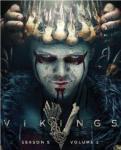 DVD cover: Vikings, season 5 part 2