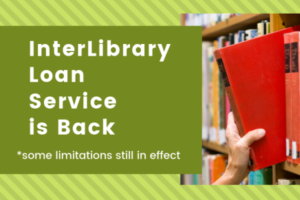 InterLibrary Loan is back