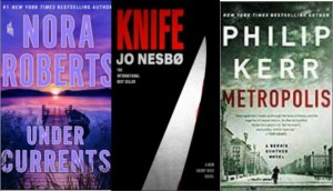 New Book Covers: Under currents; Knife; Metropolis