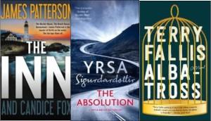 New Book covers: The Inn, Absolution, Albatross