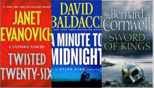 New booksL Twisted Twenty-Six, A minute to midnight; Sword of kings