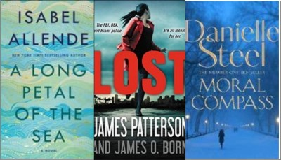 New Books: A Long Petal of the Sea; Lost; Moral Compass