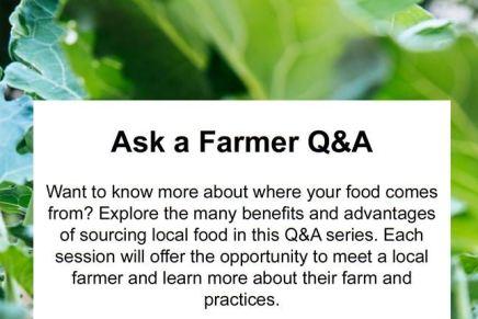 """Ask a Farmer"" – Thurs, March12"