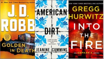 New Books: Golden in death; American dirt; Into the fire