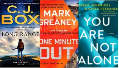 New Books: Long range; One minute out; You are not alone