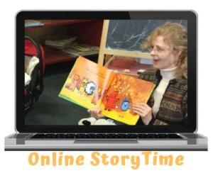 online storytime graphic