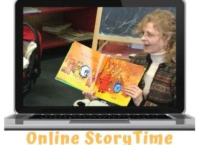 StoryTime – In person & Online!