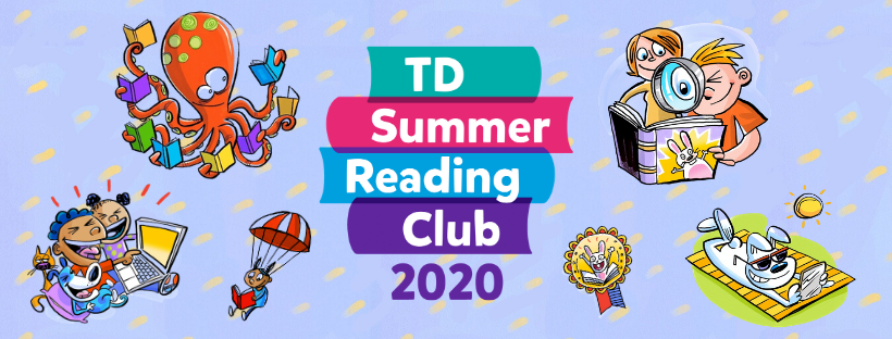 TD Summer Reading Club 2020 header