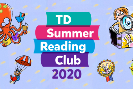 TD Summer Reading Club – at the Library!
